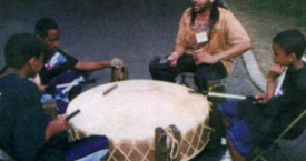 Native American Drumming and singing